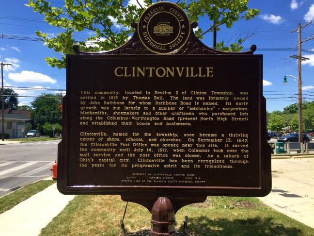 Happy birthday clintonville love clintonville clintonville historic marker malvernweather Gallery