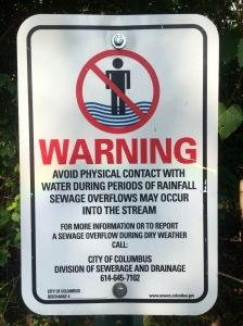 Blueprint columbus love clintonville olentangy warning sign malvernweather Gallery
